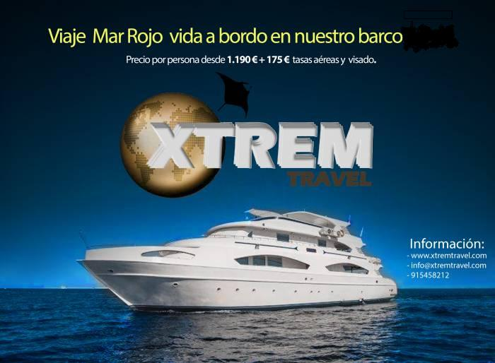 MAR ROJO XTREM TRAVEL ECHO I portada